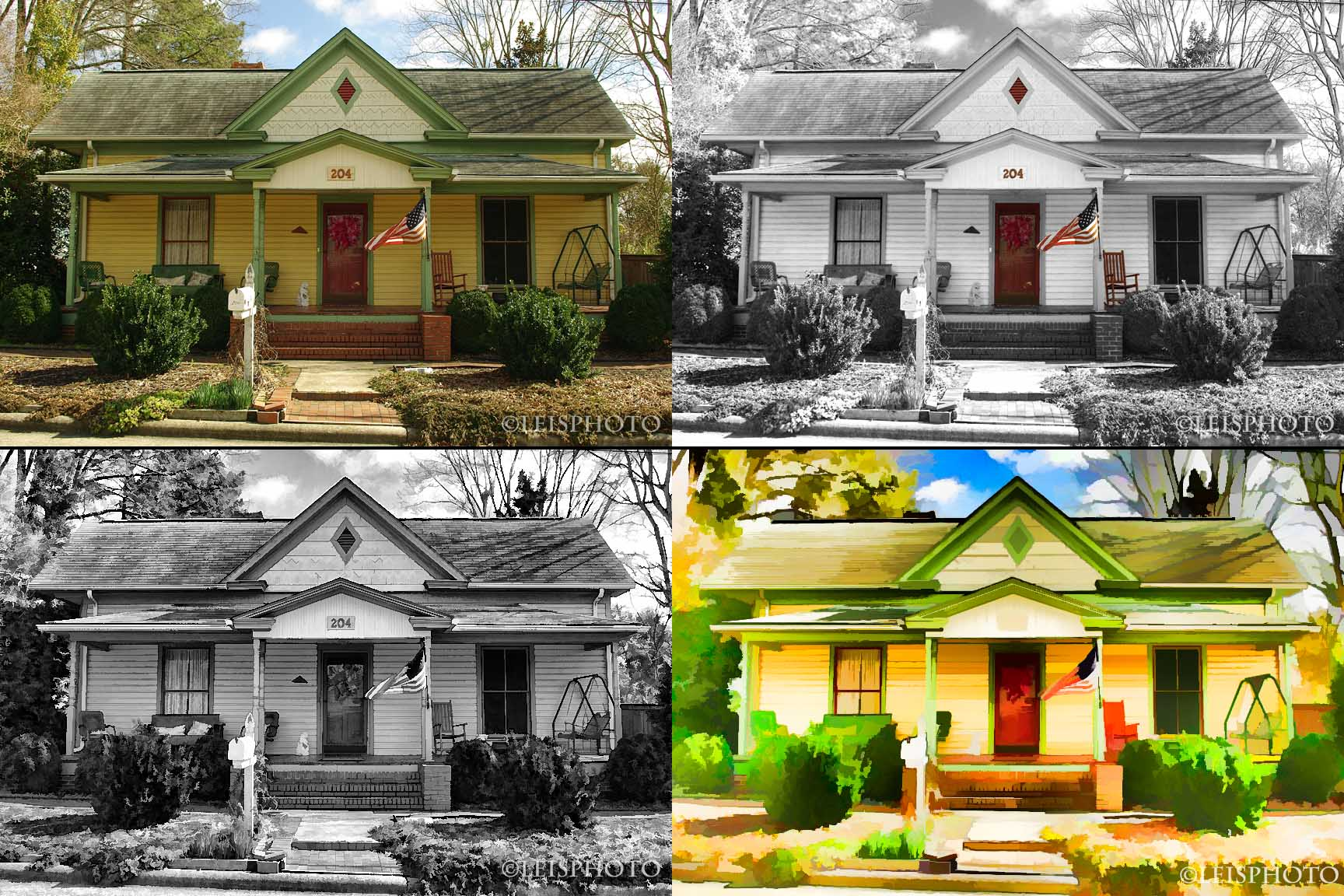 Apex Yellow House Options
